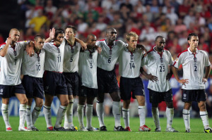 England vs Portugal 2004