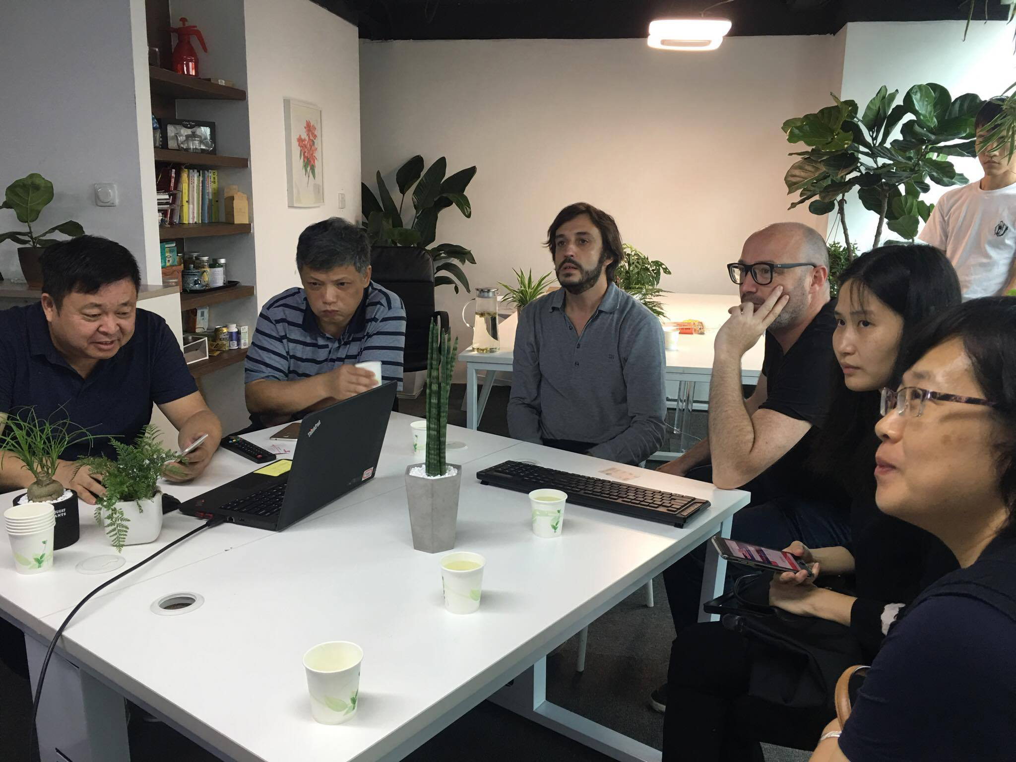 Meeting with Startup Incubator and Accelerator Guangzhou