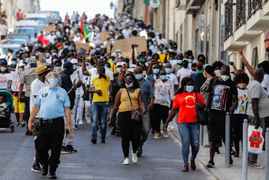 Diáspora da Guiné-Bissau reúne centenas em Lisboa para denunciar situação no país