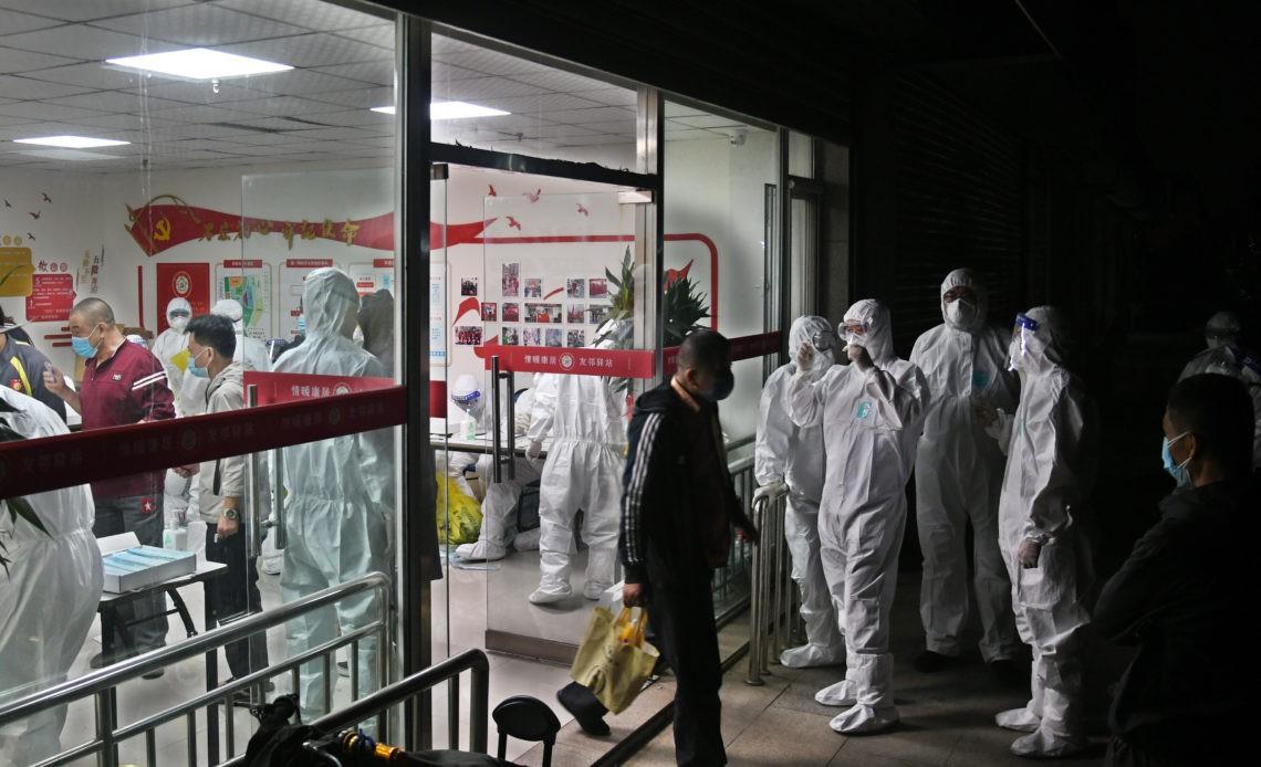 Qingdao-China-Coivid-hospital