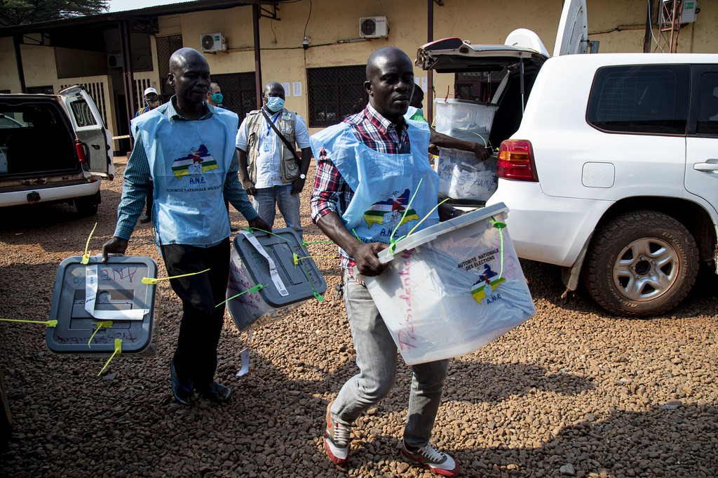 Central Africa Election 2020, CAR
