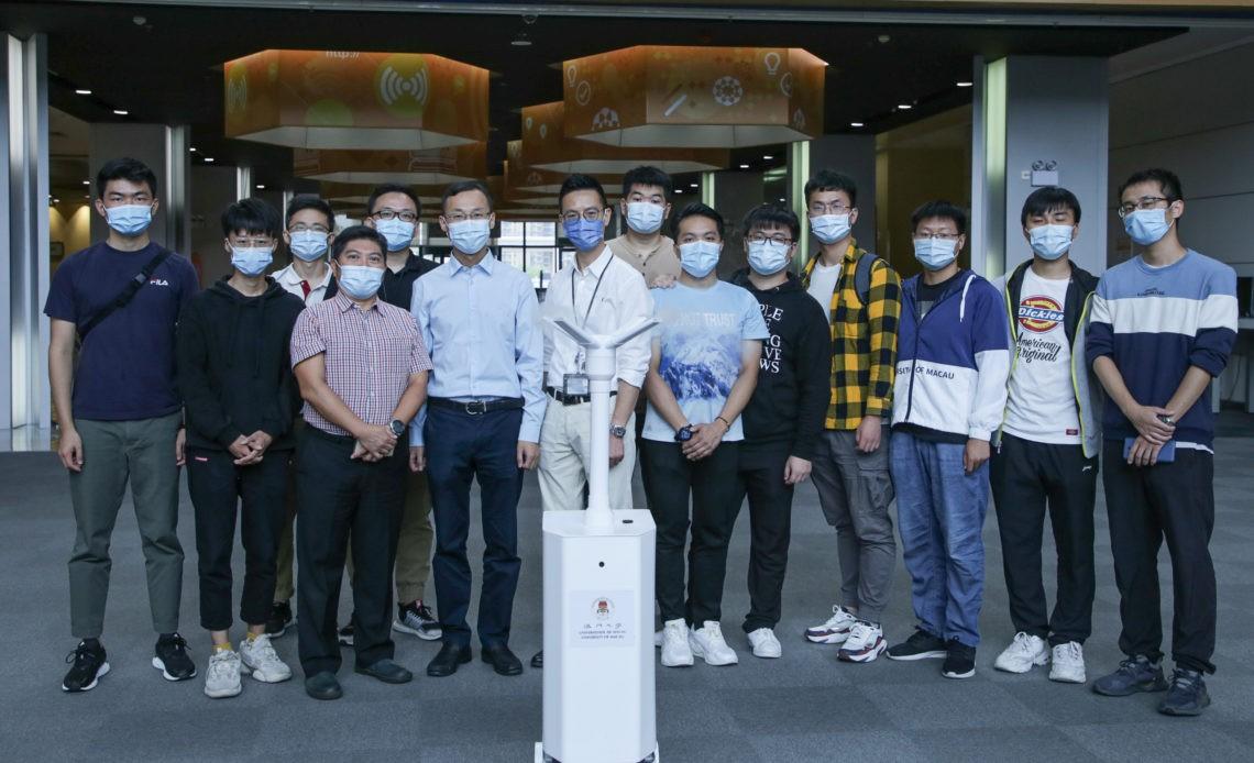 UMAC-Robot-disinfection
