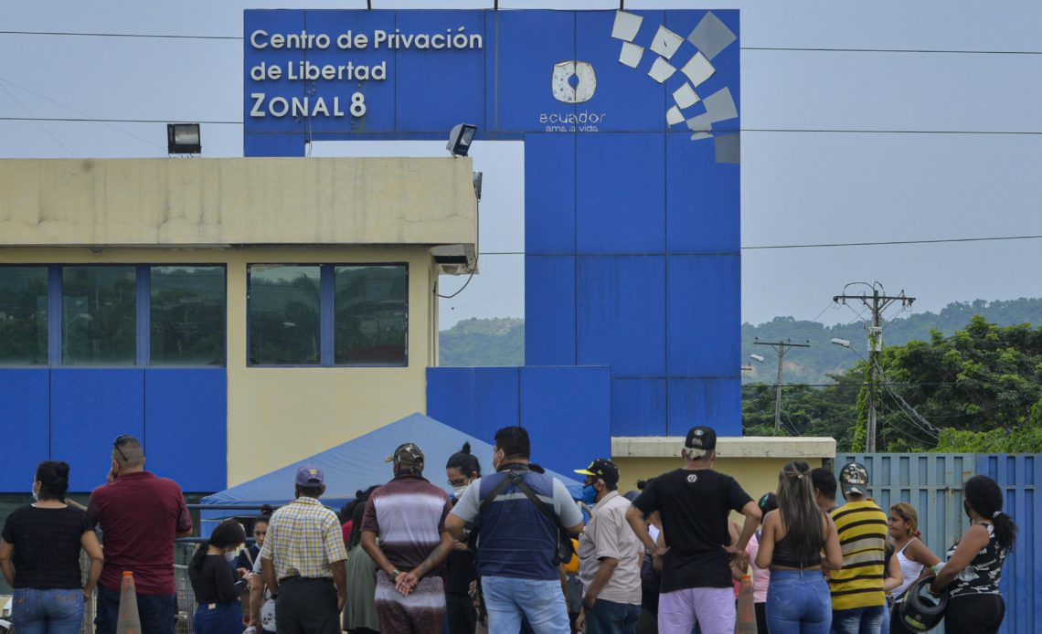 prison riots in Ecuador