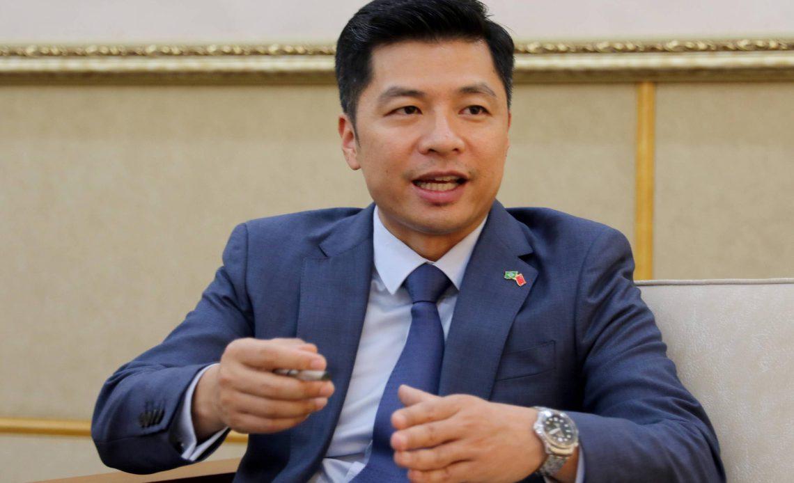 O ministro-conselheiro Qu Yuhui, porta-voz da embaixada da China no Brasil - Wilson Dias -